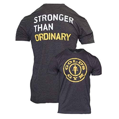 Golds Gym T-shirt Premium Stronger Than Ordinary