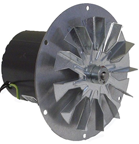 Pellet Stove Blower Motor, 1/14hp, 3000RPM, 0.6 amps. 115 Volt Rotom Replacement # HB-RBM120 (Exhaust Fan Gasket compare prices)