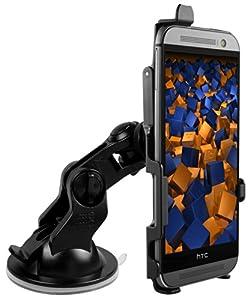 mumbi KFZ Halterung HTC One (M8) Modell 2014 Autohalterung VibrationsFREI / 90° QUERBetrieb möglich