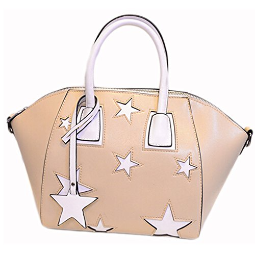 BEIER discount duty free BEIER® New Shaped dumplings Five-pointed star Handbag 2015-Summer38 (beige)