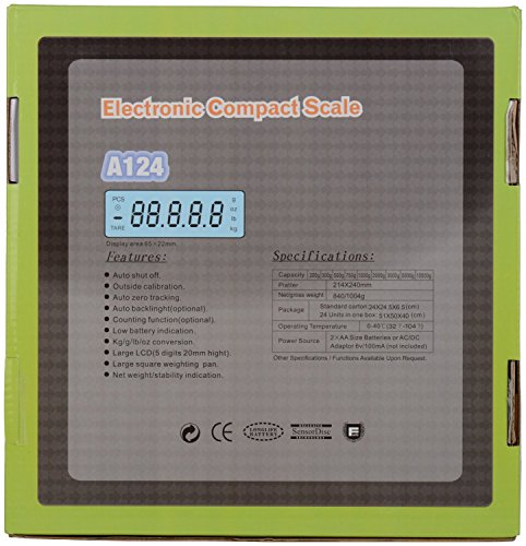 Pesco Atom Electronic/Digital Compact Upto 30Kg Weighing Scale A124