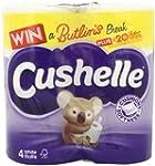Cushelle Toilet Tissue White 4 Rolls...