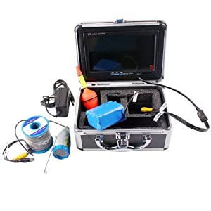 Shanyi fishing fish finder 7 color lcd hd for Fishing line camera