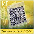 OxyFree 2000cc Oxygen Absorbers - Pack of 10 oxygen absorbers total