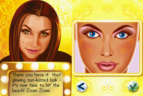 Supermodel Makeover by Lauren Luke  galerija