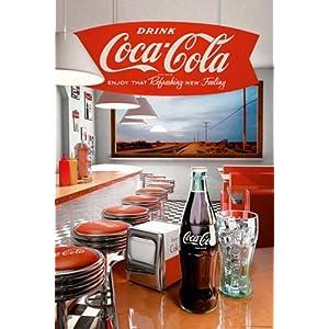 Empire 433510 Poster pubblicitario Coca Cola Diner 61x91,5 cm   recensioni dei clienti