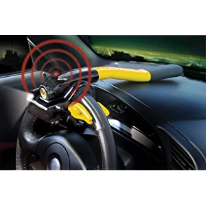 Gorilla Automotive 910 Gorilla Grip III Steering Wheel Lock with Remote Control