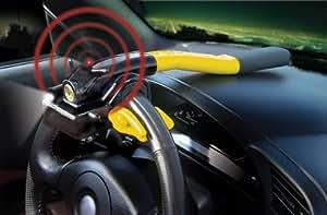 Gorilla Automotive 910 Gorilla Grip III Steering Wheel Lock with Remote Control