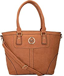 9design Shoulder Bag (Brown)