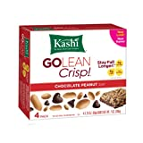 Kashi GOLEAN Bar Crunchy! Chocolate Peanut (1.76-Ounce), 4-Count  Bars (Pack of 6)