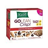 Kashi GOLEAN Bar Crunchy! Chocolate Peanut (1.76-Ounce), 4-Count  Bars (Pack of 6) ~ Kashi