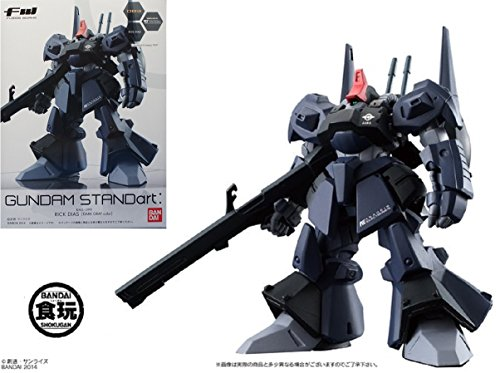 Fusion Works Gundam Standart Series 21 RMS-099 Rick Dias (Dark Gray Color) Trading Figure