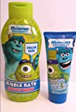 Disney Pixar Monsters University Scary Berry Body Wash and Beastly Berry Bubble Bath
