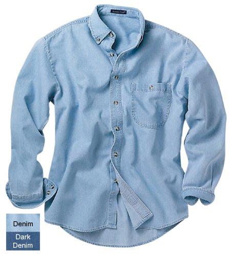 Rivers End Long Sleeve Shirt Denim