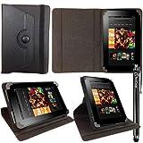 ITechCover® Amazon Kindle Fire HD / 2012 / 7 Inch / Black Universal 7