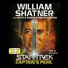Star Trek: Captain's Peril Audiobook by William Shatner Narrated by William Shatner