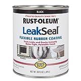 Rust-Oleum 271791 Stop Rust Leak Seal Flexible Rubber Coating Sealant, Black