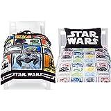 Star Wars Classic Twin Sized 4 Piece Bedding Set - Comforter & Sheet Set