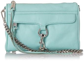 Rebecca Minkoff Mini MAC Convertible H001E001 Cross Body Bag,Minty,One Size