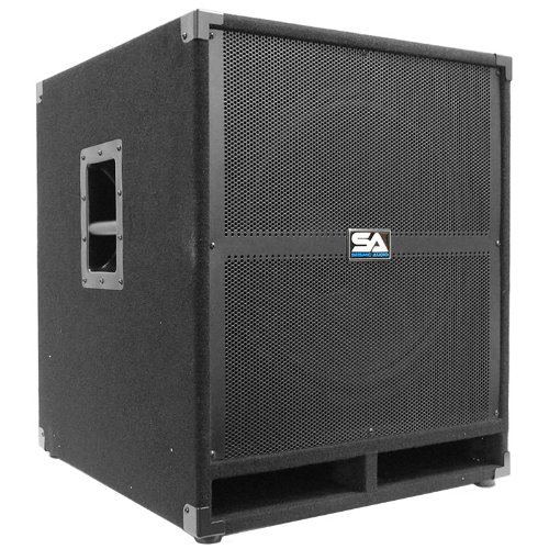 Seismic Audio Tremor_18-Pw - Powered Pa 18-Inch Subwoofer Speaker Cabinet