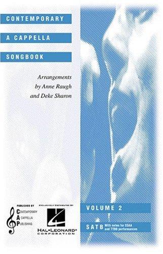 Contemporary a Cappella Songbook (Choral)