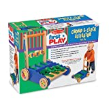 Melissa & Doug Chomp & Clack Alligator Push Toy