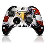 (USA Eagle) Xbox One Modded Wireless Controller Custom Design w/Extreme Features: Rapid Fire, Auto Burst, Jump Shot, Auto Spot and more