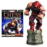 Marvel X-Men Juggernaut Black Rook Chess Piece with Collector Magazine by X Men