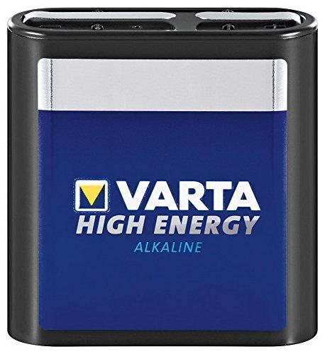 4,5 Volt bloc de piles alcalines varta-high energy (4912)