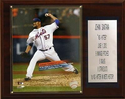 MLB Johan Santana New York Mets No-Hitter Player Plaque