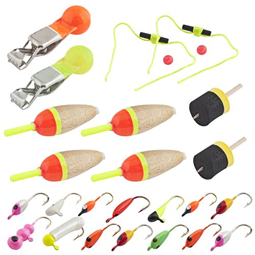 Celsius ice fishing kit 013893880291 for Ice fishing jig kits
