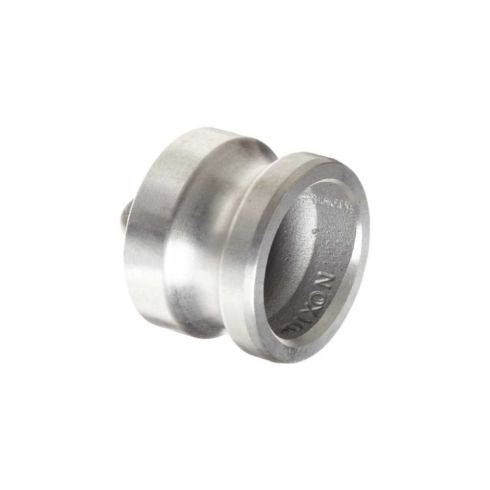 Dixon RH100BL Stainless Steel 316 Boss-Lock Type H Cam and Groove Hose Fitting 1 1 Dixon Valve /& Coupling Dust Cap