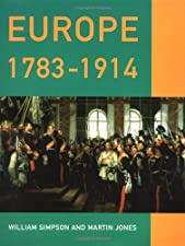 Europe 1783 1914 by Simpson