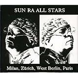 Milan, Zurich, West Berlin, Paris