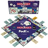 Monopoly - Fed Ed (FEDEX) 2nd Edition Rare Collectable Board Game