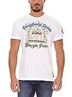 BIAGGIO Camiseta Manga Corta Loupasif (Blanco)