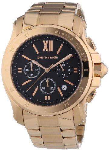 Pierre Cardin PC104291F09 - Orologio da polso uomo, acciaio inox, colore: oro