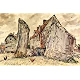 Adam and Eve, Monoliths, Avebury, by Vincent Henry Lines (Print On Demand)