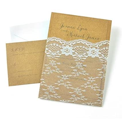 Gartner Studios Wedding Collection Invitation Kit, 25pk