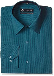 Hancock Men's Formal Shirt (4516green_38)