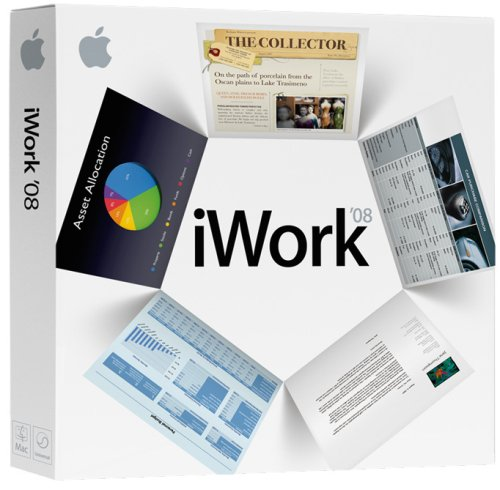 Apple Iwork '08 - Old Version front-788631