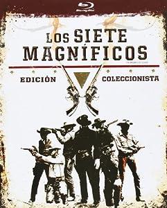 Los 7 Magnificos - Formato Libro [Blu-ray]: Amazon.es