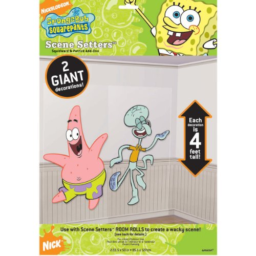 Patrick and Squidward Scene Setter Add-Ons - 1