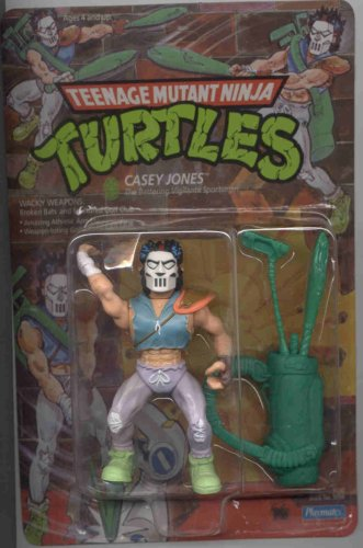Picture of Playmates Casey Jones Teenage Mutant Ninja Turtles FIGURE (B000RHF7QI) (TNMT Action Figures)