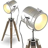 mojoliving l37 mojo lampadaire design style ancien type projecteur de cin ma avec spot chrom. Black Bedroom Furniture Sets. Home Design Ideas