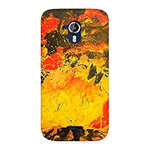 Modern Art Paint Designer Back Case Cover for Micromax Canvas Magnus A117