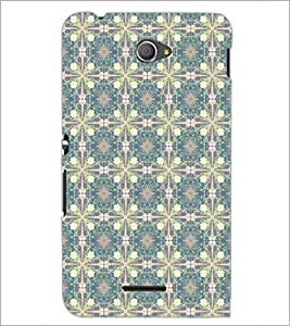 PrintDhaba Pattern D-5326 Back Case Cover for SONY XPERIA E4 (Multi-Coloured)