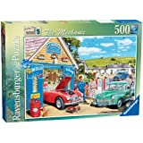 Ravensburger Happy Days at Work No. 5 - The Mechanic, 500pc Jigsaw Puzzle