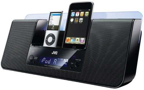 Jvc Home Nxpn10 10W Ipod Iphone Audio System (Black)