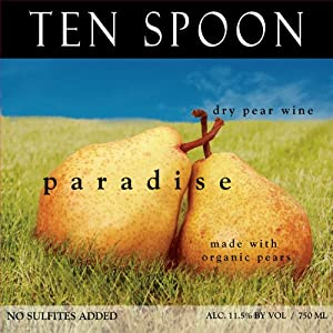 NV Ten Spoon Paradise Pear Wine 750 mL - USDA Organic - No Added Sulfites